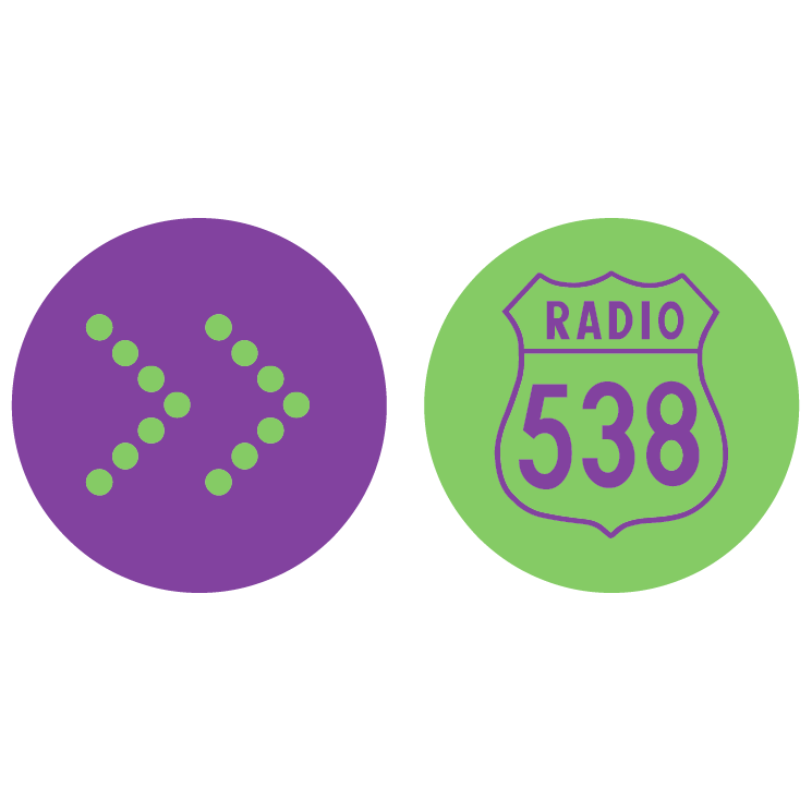 free vector Radio 538