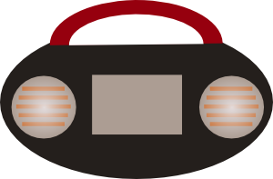 free vector Radio clip art