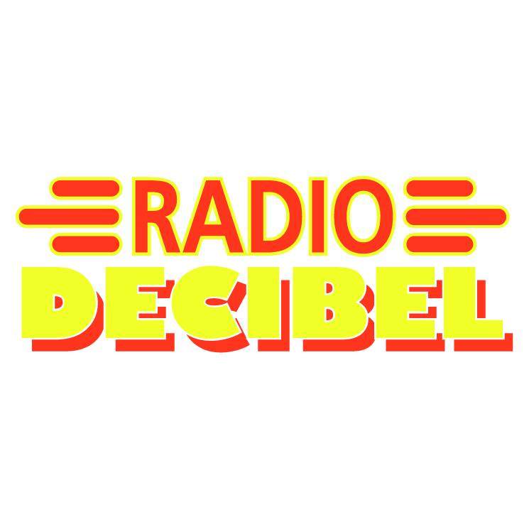 free vector Radio decibel