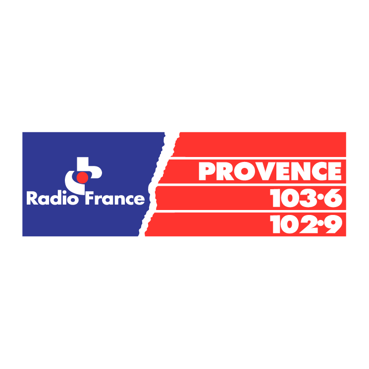 free vector Radio france provence