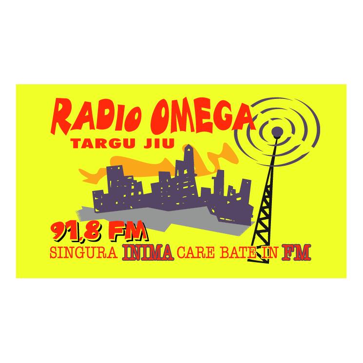 free vector Radio omega