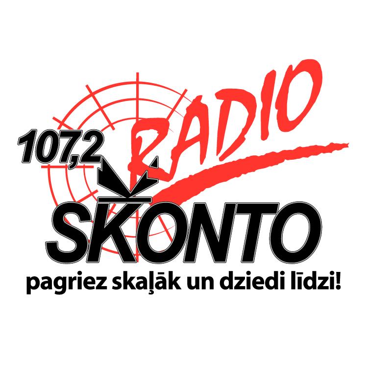 free vector Radio skonto