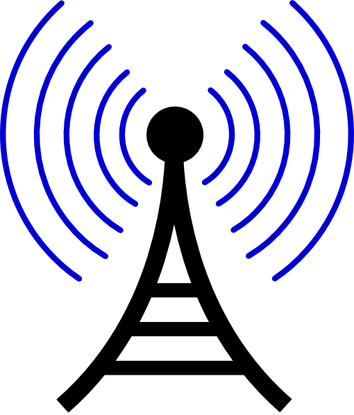Radio/wireless Tower clip art Free Vector / 4Vector