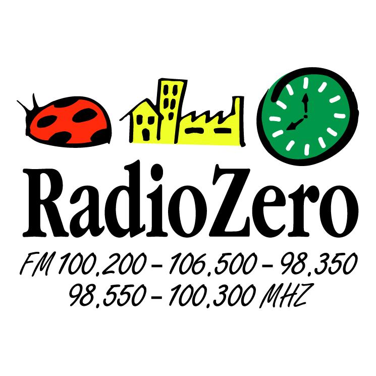 free vector Radio zero 0