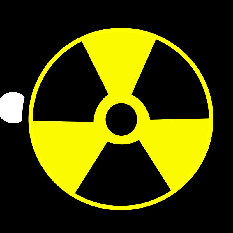 free vector Radioactive sign 01