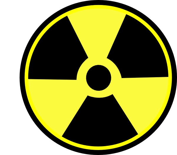 free vector Radioactive Sign clip art
