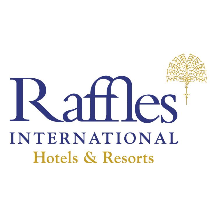 free vector Raffles international