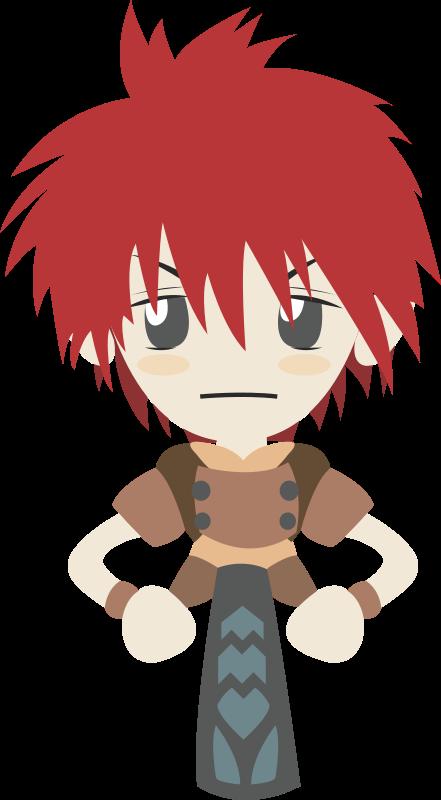 free vector Ragnarok boy