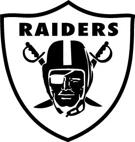 free vector Raiders logo