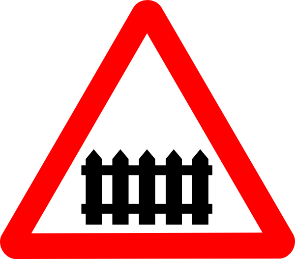 free vector Rail Roadsigns clip art