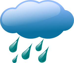 free vector Rain Cloud clip art