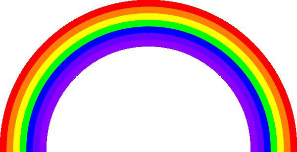 rainbow clip art free vector 4vector rh 4vector com vector rainbow six siege vector rainbow background