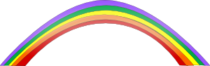 free vector Rainbow clip art