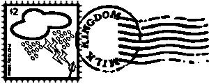 free vector Raining Stamp clip art