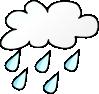 free vector Rainy Weather clip art