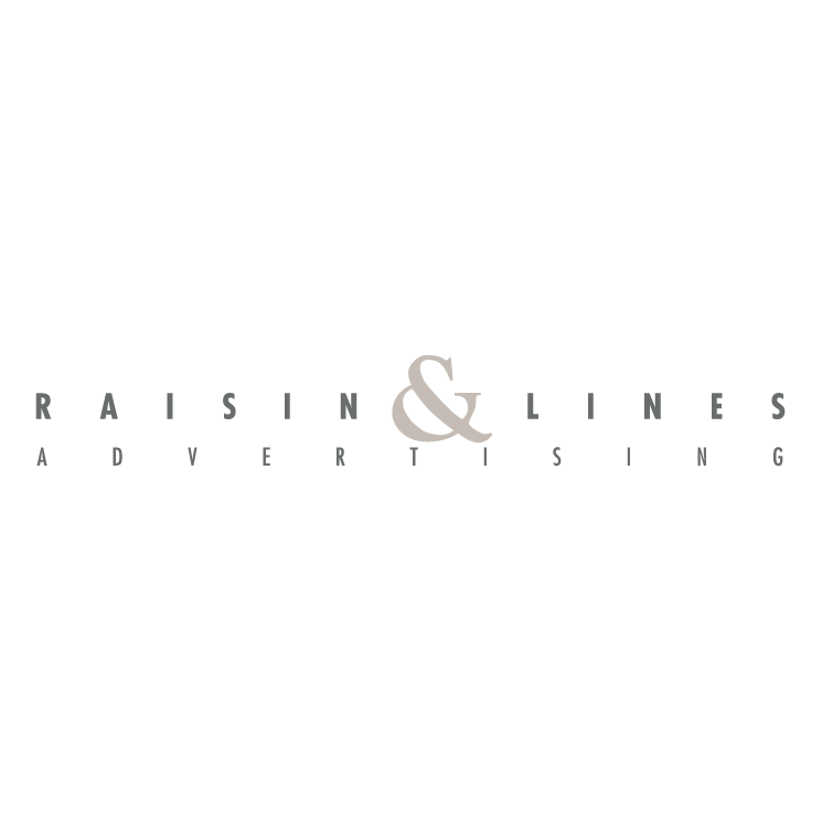 free vector Raisin lines advertising