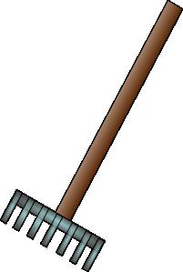 free vector Rake clip art