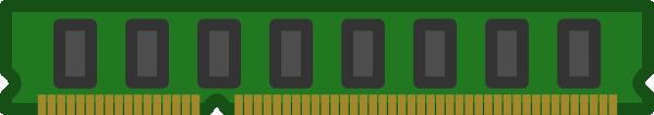 free vector Ram Memory Chip clip art
