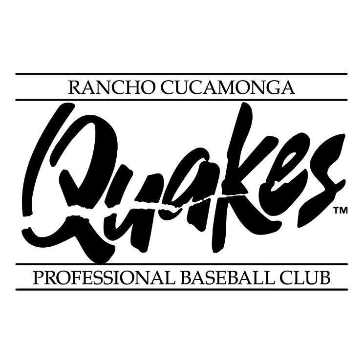 free vector Rancho cucamonga quakes 0