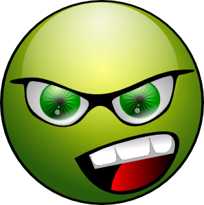 free vector Raphie Green Lanthern Smiley clip art
