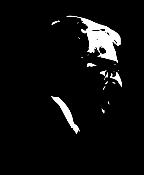 free vector Ray Bradbury clip art