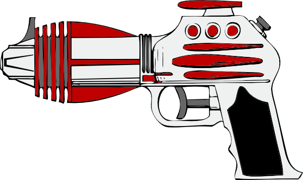 free vector Raygun clip art