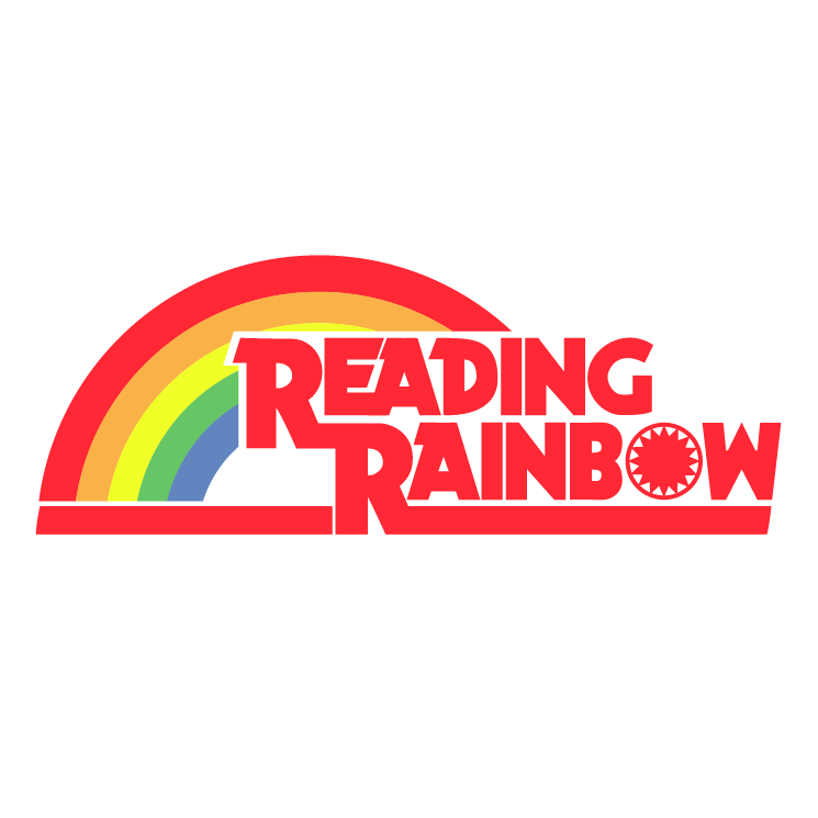 Reading Rainbow Free Vector / 4Vector