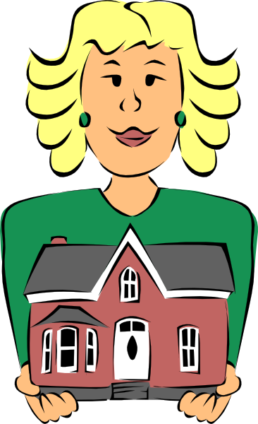 real estate agent holding house clip art free vector 4vector rh 4vector com free real estate clip art photos free real estate clip art and pictures