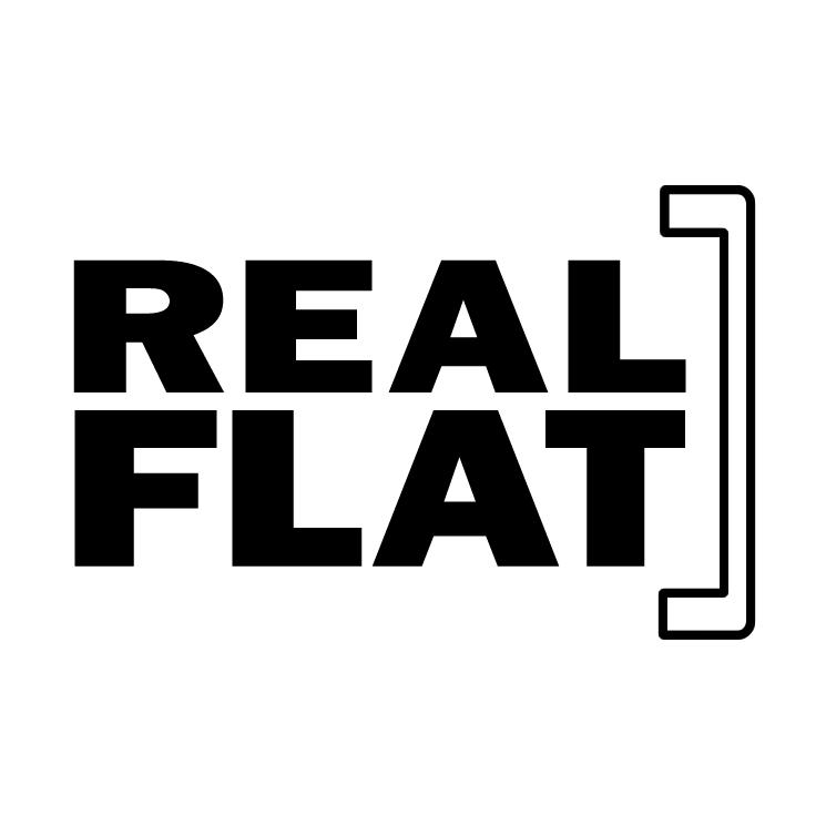 free vector Real flat