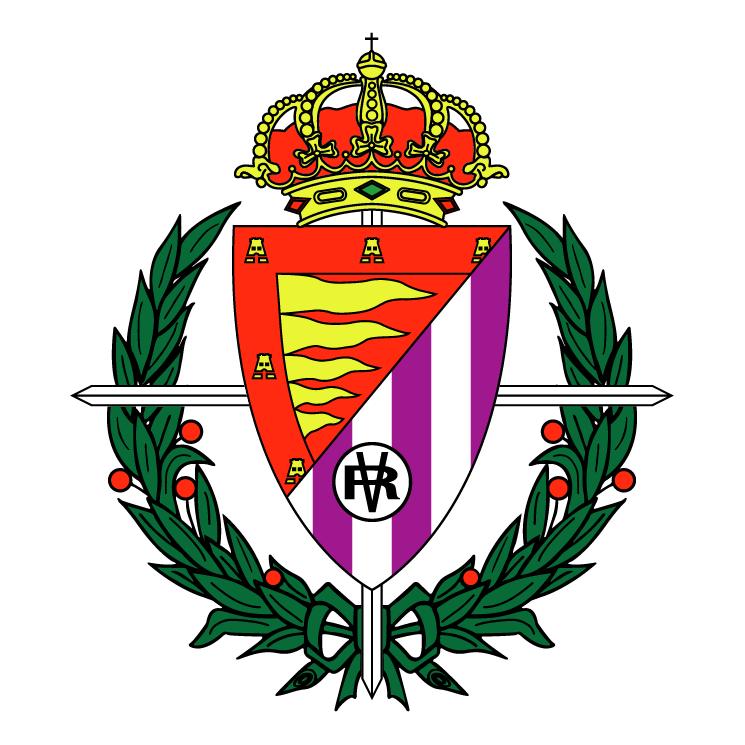 free vector Real valladolid club de futbol