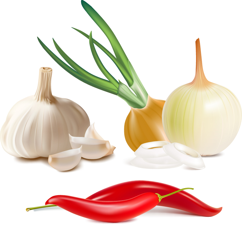 Real vegetables (5257) Free EPS Download / 4 Vector