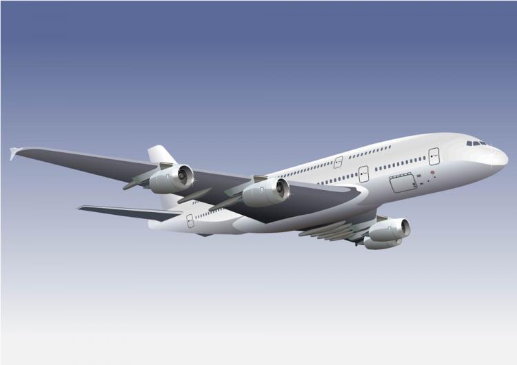 free vector Realistic aircraft 01 vector