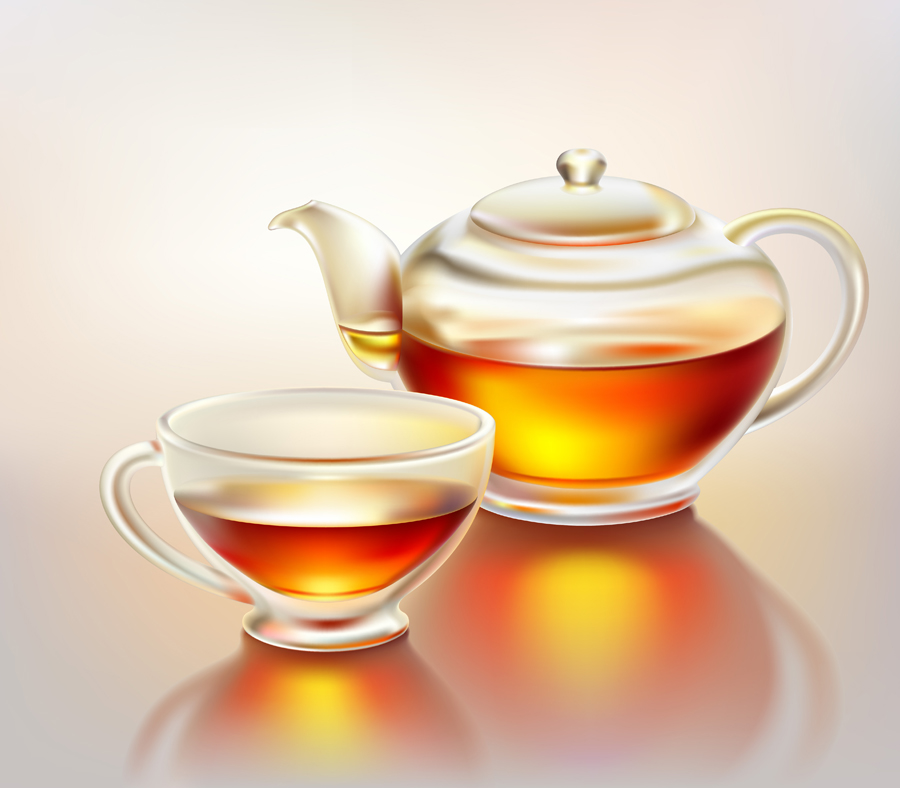 free vector Realistic teacup vector