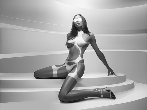free vector Realistic woman vector