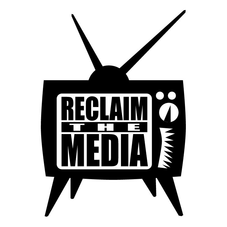 free vector Reclaim the media