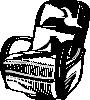 free vector Recliner Chair clip art