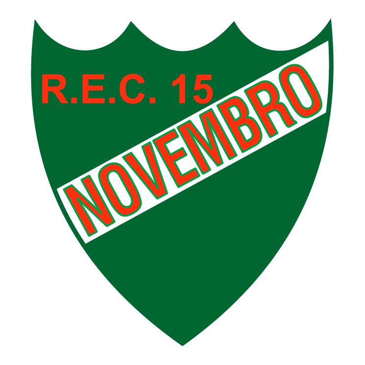 free vector Recreio esporte clube 15 de novembro de igrejinha rs