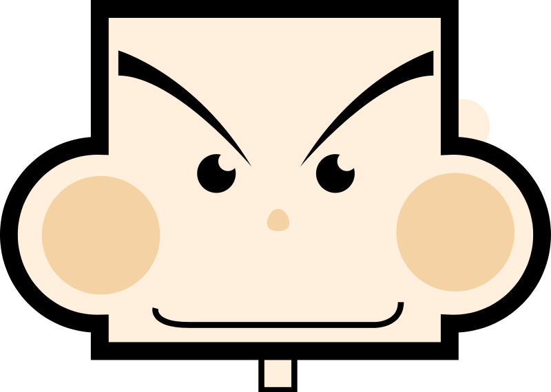 free vector Rectangle boy