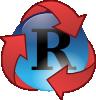 free vector Recycle Super Hero clip art