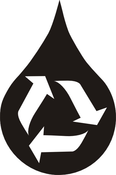 free vector Recycle_water clip art