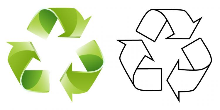 free vector Recycle