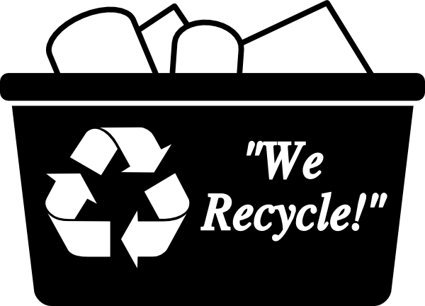 free vector Recycling Box clip art
