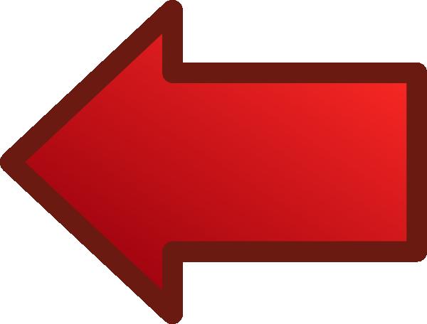 free vector Red Arrows Set Left clip art