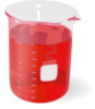 free vector Red Beaker clip art