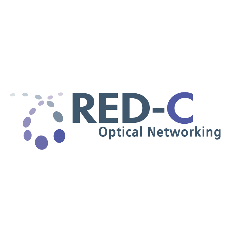 free vector Red c optical networking