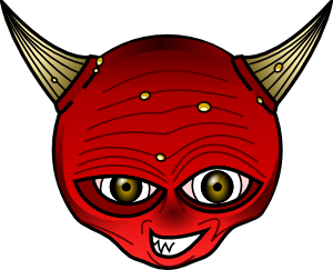 free vector Red Devil clip art