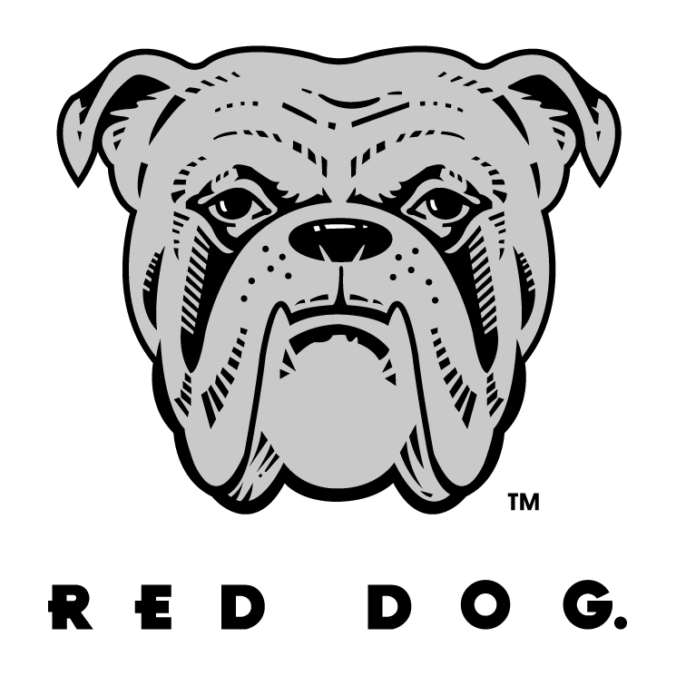 free vector Red dog