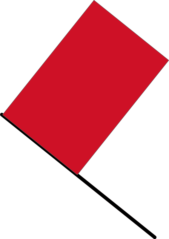 free vector Red flag