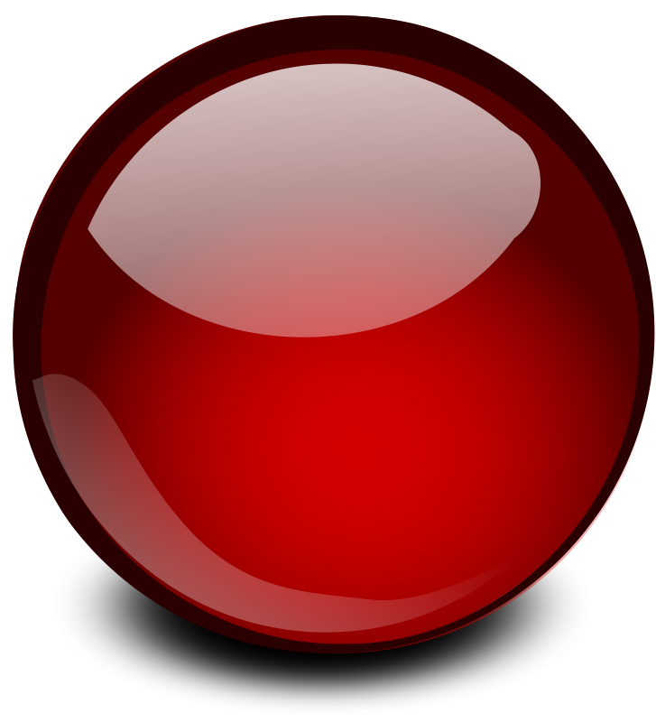 free vector Red Glossy Orb