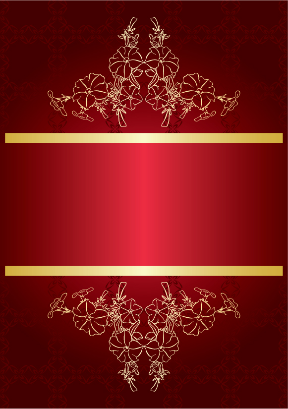 Free Vector Red Gorgeous Background 02